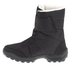 Botas de senderismo en la nieve para niños SH500 cálidas e impermeables negro