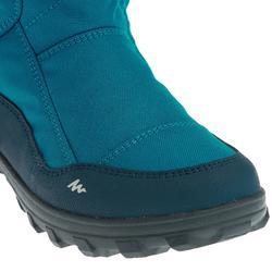 Schneestiefel Winterwandern SH500 Warm wasserdicht Kinder blau