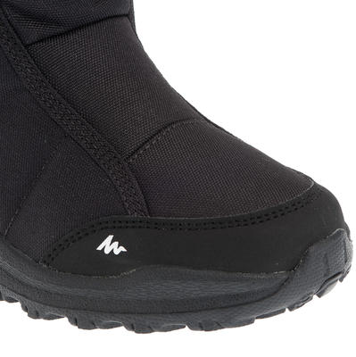 Botas de excursionismo niños Arpenaz 100 Warm Negro