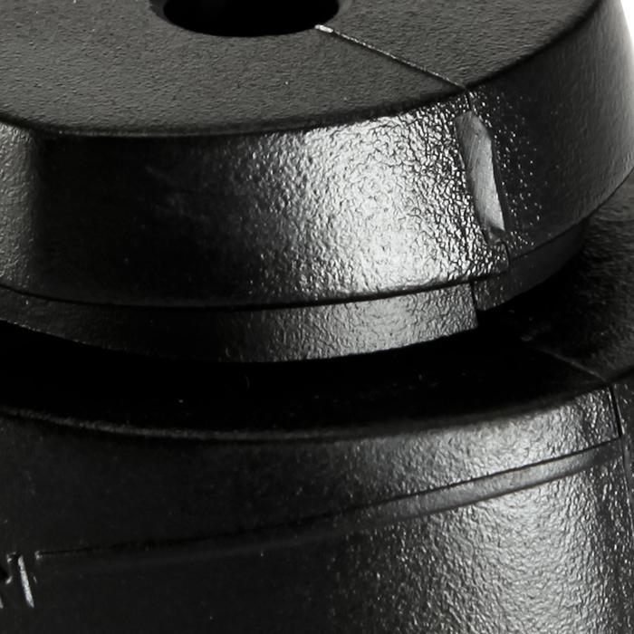 Remblokje voor skates Fit 3 / Fit 5 / Play 7 zwart