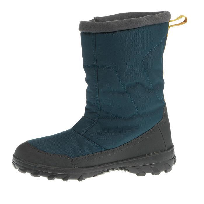 Heren wandellaarzen voor de sneeuw SH100 X-warm blauw