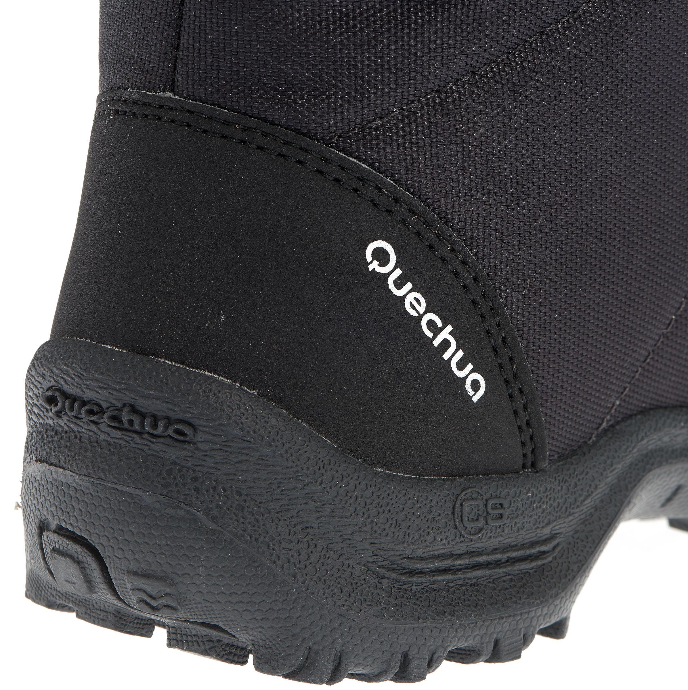 SH100 X-Warm JR Snow Hiking Boots - Black