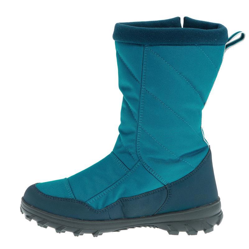 Bottes de randonnée neige junior SH500 warm bleues   Quechua 07aefa8b0043