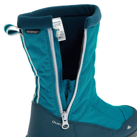 SH500 Warm JR Snow Hiking Boots - Blue