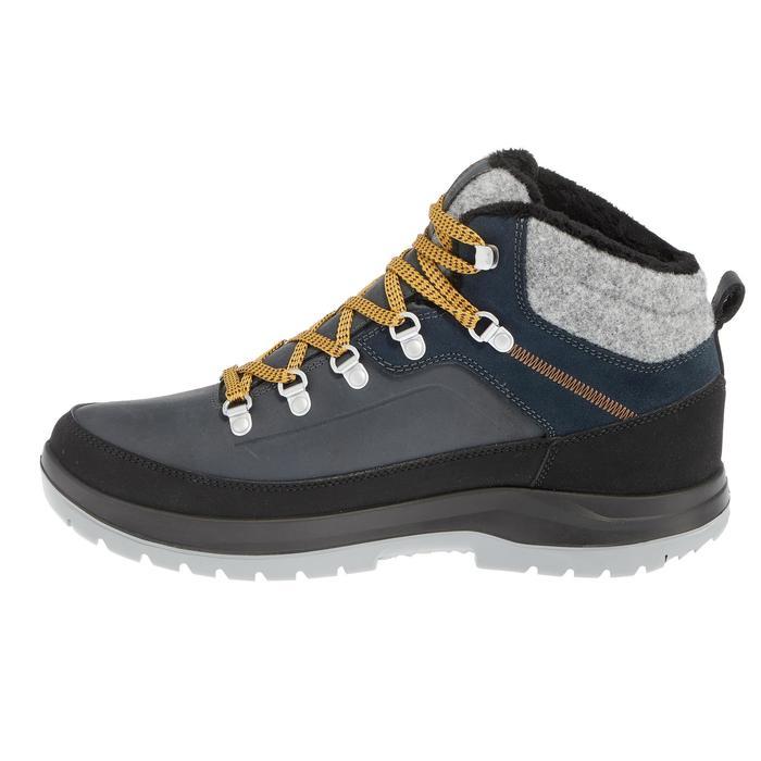 Winterschuhe Winterwandern SH500 Extra-Warm Herren blau