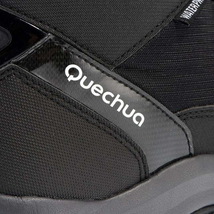 Chaussures de randonnée neige homme SH520 x-warm mid noires.