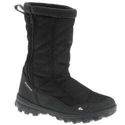 Kinder wandellaarzen voor de sneeuw SH500 Warm