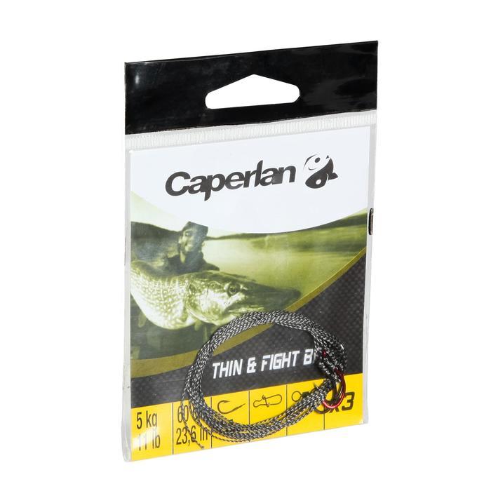 Bas de ligne pêche carnassier THIN & FIGHT 5KG x3 - 101232