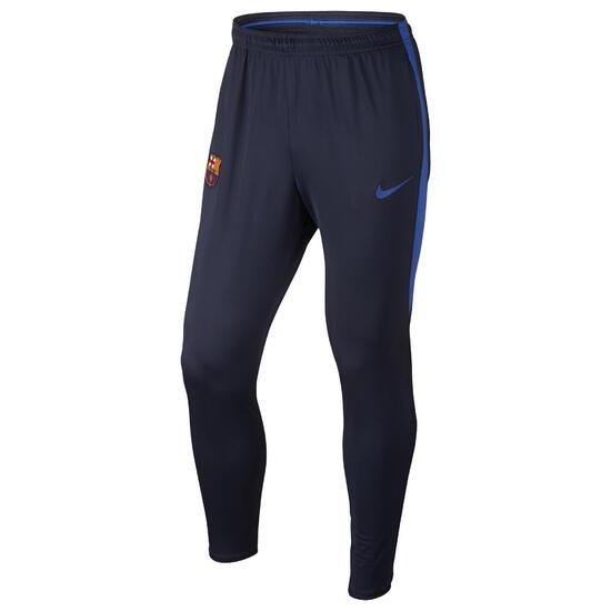 Trainingsbroek FC Barcelona voor volwassenen marineblauw - 1012340