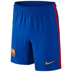 Voetbalbroekje voor kinderen Barcelona blauw/rood