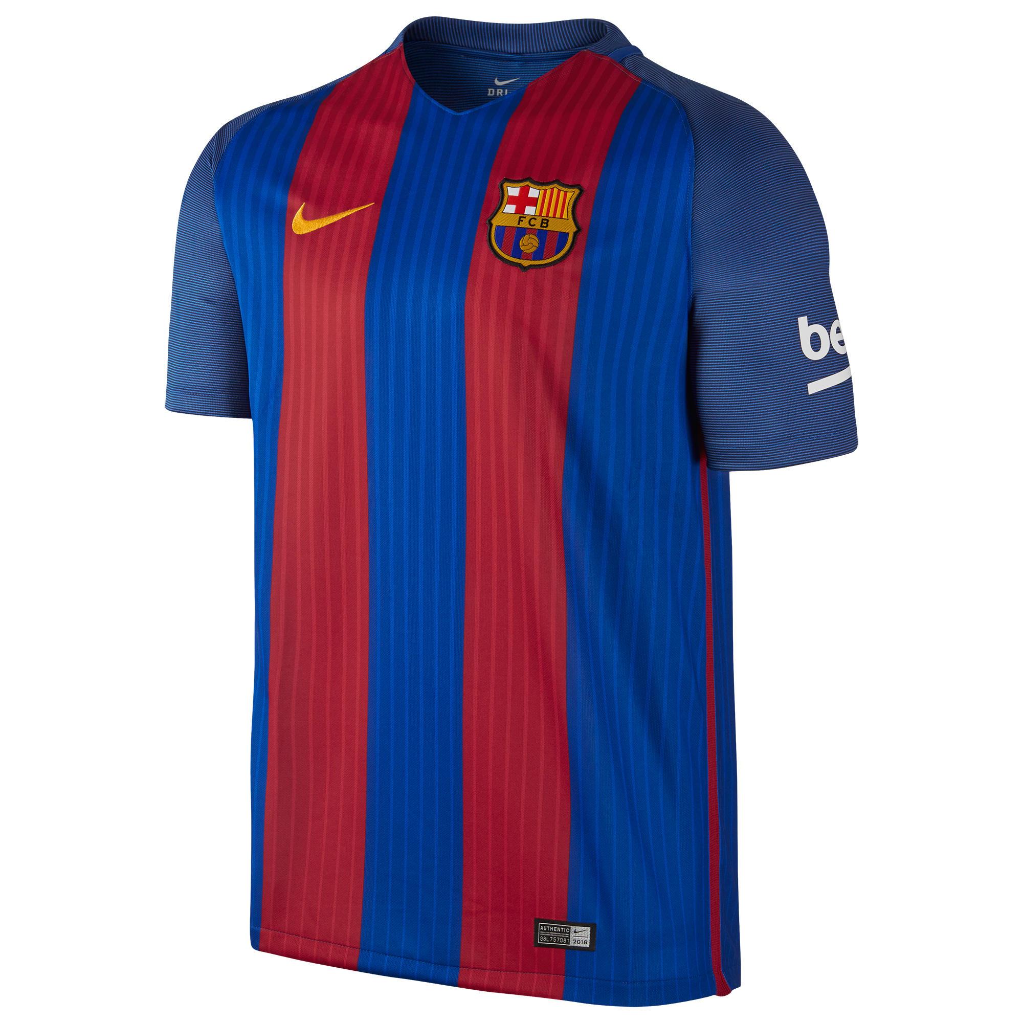 Nike Voetbalshirt Barcelona thuisshirt voor volwassenen blauw/rood