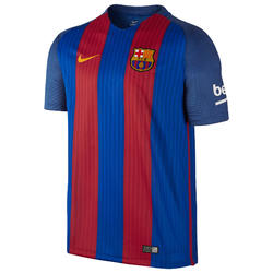 Voetbalshirt Barcelona thuisshirt voor volwassenen blauw/rood