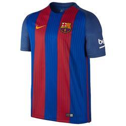 Voetbalshirt voor volwassenen, replica thuisshirt Barcelona blauw/rood
