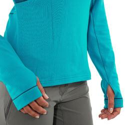 T-shirt lange mouwen Forclaz 500 warm - 1012538
