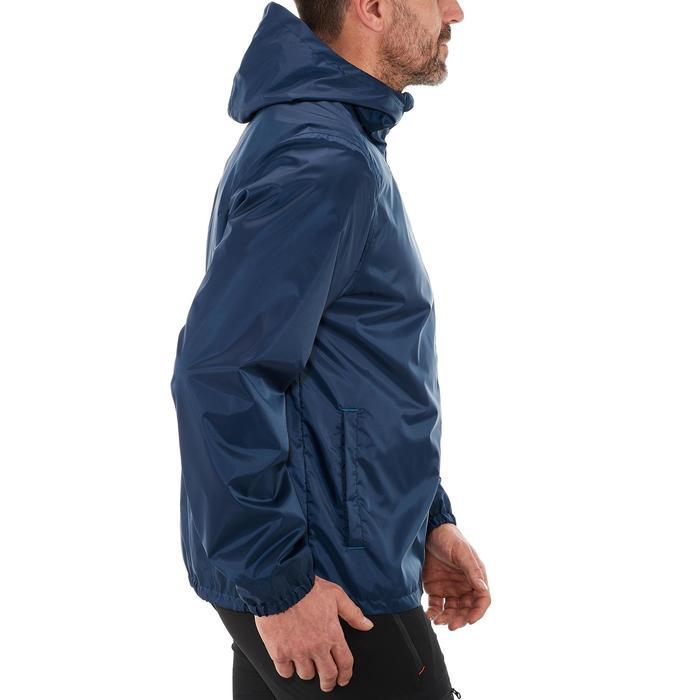 Veste de randonnée neige homme SH100 warm bleue marine.