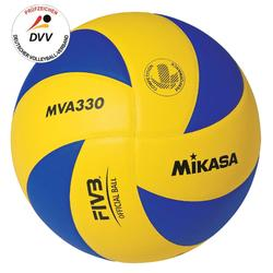 Volleyball MVA 330 Indoor gelb/blau