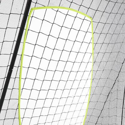 מטרה לגולים קלאסית ובסיסית גודל L 3x2 מטרים - אפור