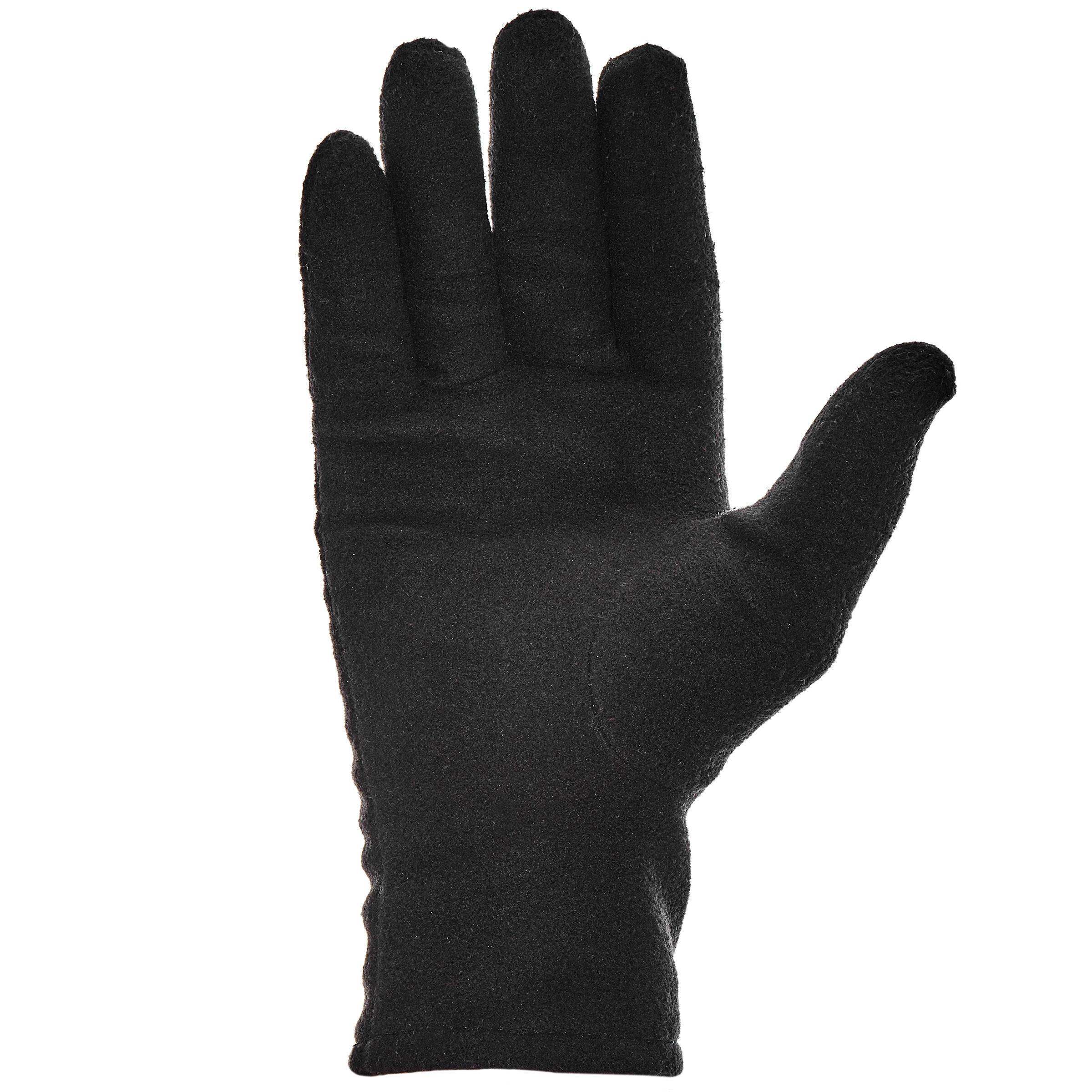 Forclaz 20 Adult Hiking Gloves - Black