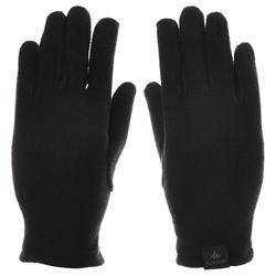 Handschuhe MH100 Fleece Kinder schwarz