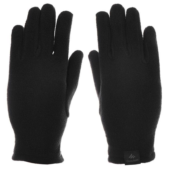 Kinderhandschoenen voor sneeuwwandelen MH100 fleece zwart