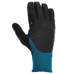 Handschoenen trekking volwassenen Forclaz 300 Hybrid petroleumblauw