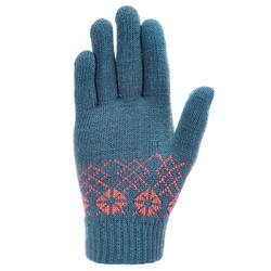 Tactiele kinderhandschoenen voor trekking Arpenaz 50