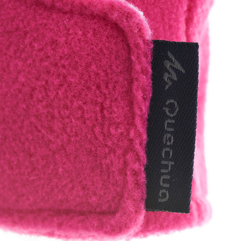 Mitones polares de hiking niños SH100 warm rosados