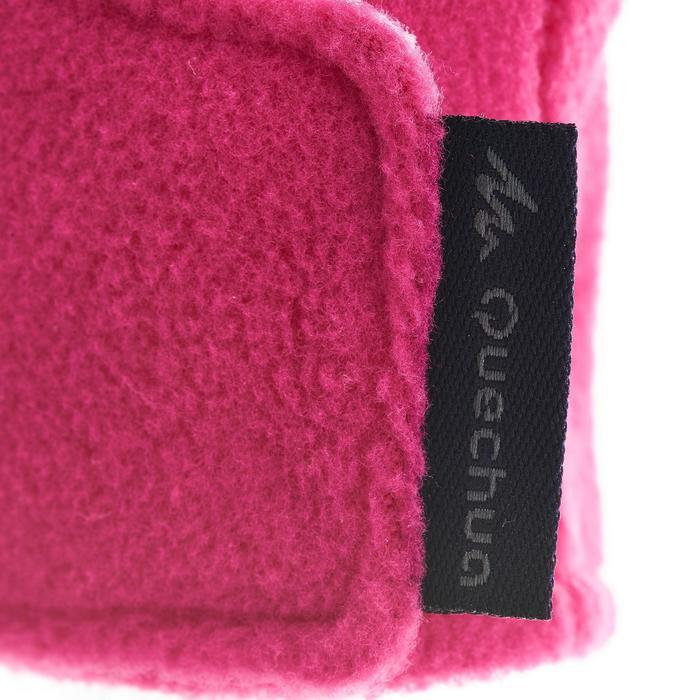 Manoplas polares de senderismo júnior SH100 warm rosa