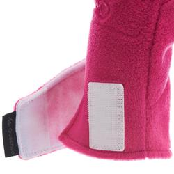 Fäustlinge Fleece SH100 Warm Kleinkinder rosa