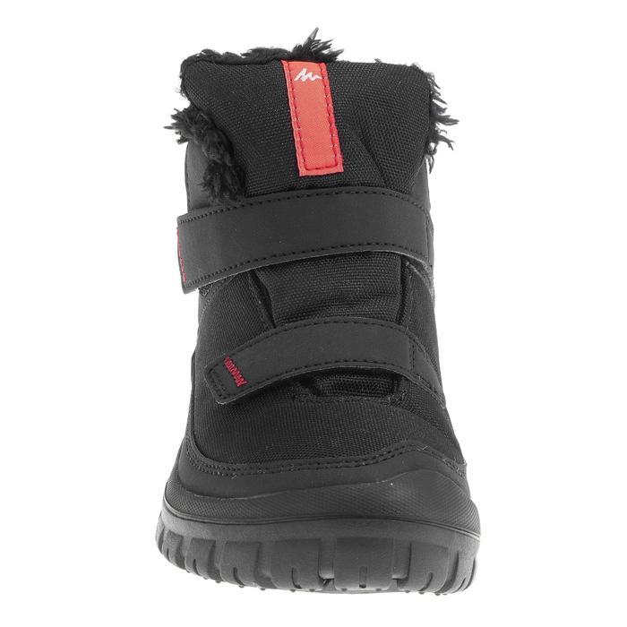 Chaussures de randonnée neige junior SH100 warm scratch mid noir