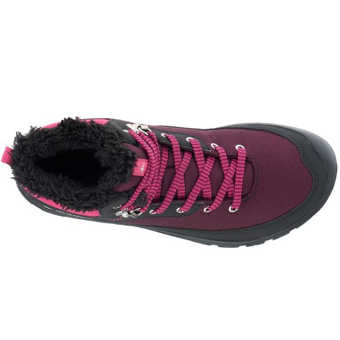 Chaussures de randonnée neige junior SH100 warm lacet mid - 1013996