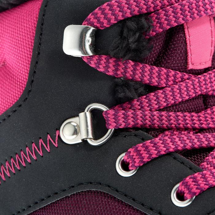 Chaussures de randonnée neige junior SH100 warm lacet mid - 1014008
