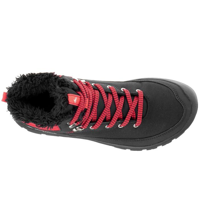 Chaussures de randonnée neige junior SH100 warm lacet mid - 1014010