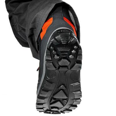 נעליים חמות נגד מים לילדים דגם SH500 ACTIVE WARM להליכה באזורים מושלגים - שחור
