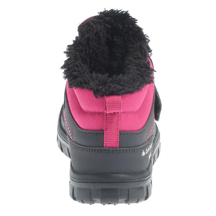 Chaussures de randonnée neige Enfant SH100 Scratchs, chaudes, imperméables - 1014028
