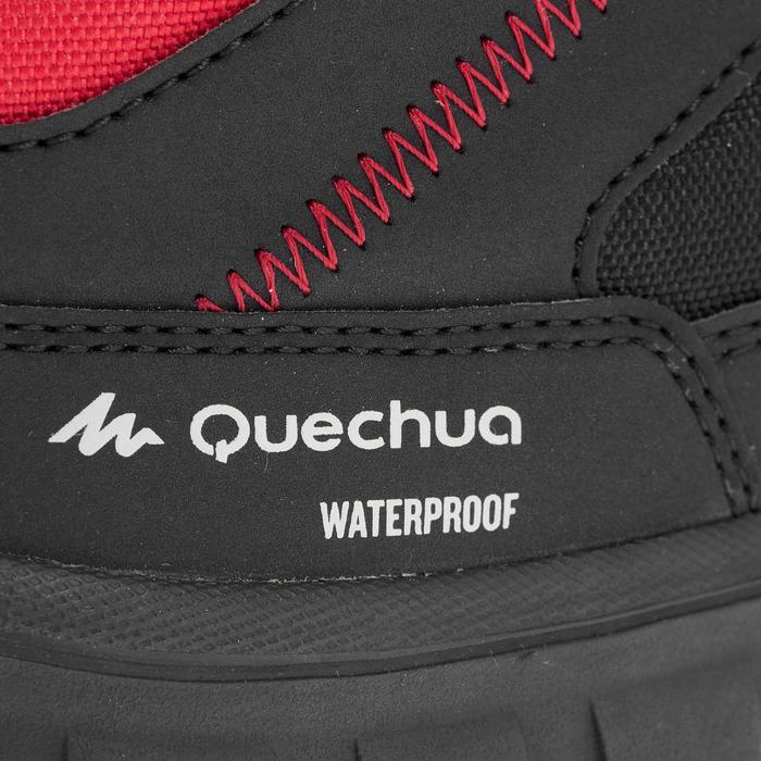 Chaussures de randonnée neige junior SH100 warm lacet mid - 1014042