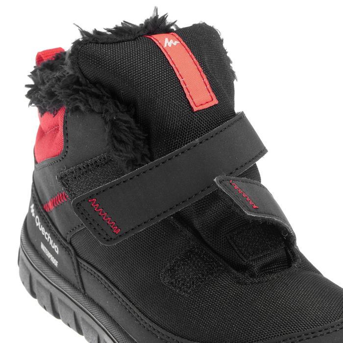 Chaussures de randonnée neige Enfant SH100 Scratchs, chaudes, imperméables - 1014046