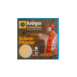 SCHUSSPFLASTER 19 MM CHAMOIS