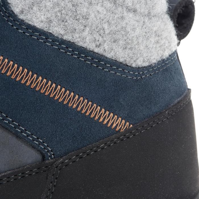 Chaussures de randonnée neige homme SH500 chaudes et imperméables blue - 1014166