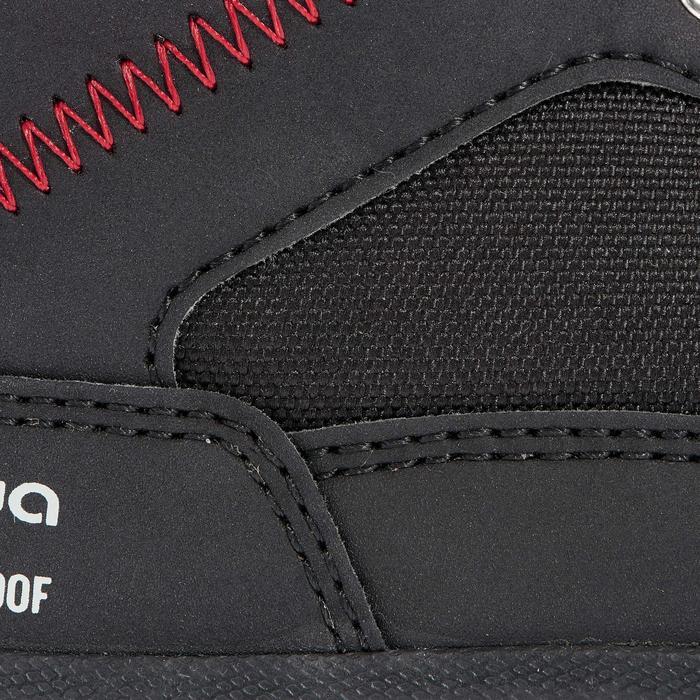 Chaussures de randonnée neige junior SH100 warm lacet mid - 1014194