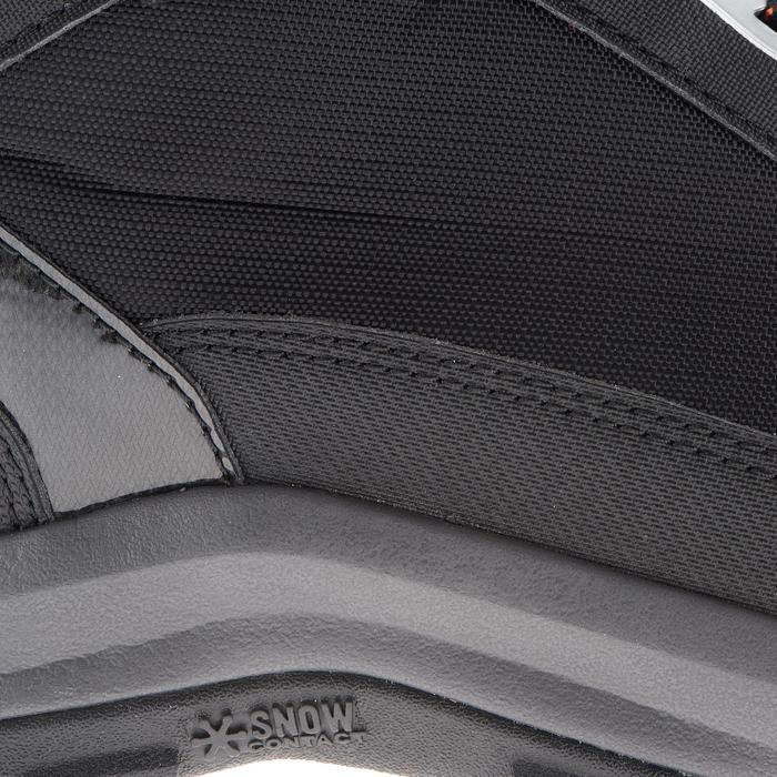 Chaussures de randonnée neige homme SH520 x-warm mid noires. - 1014211