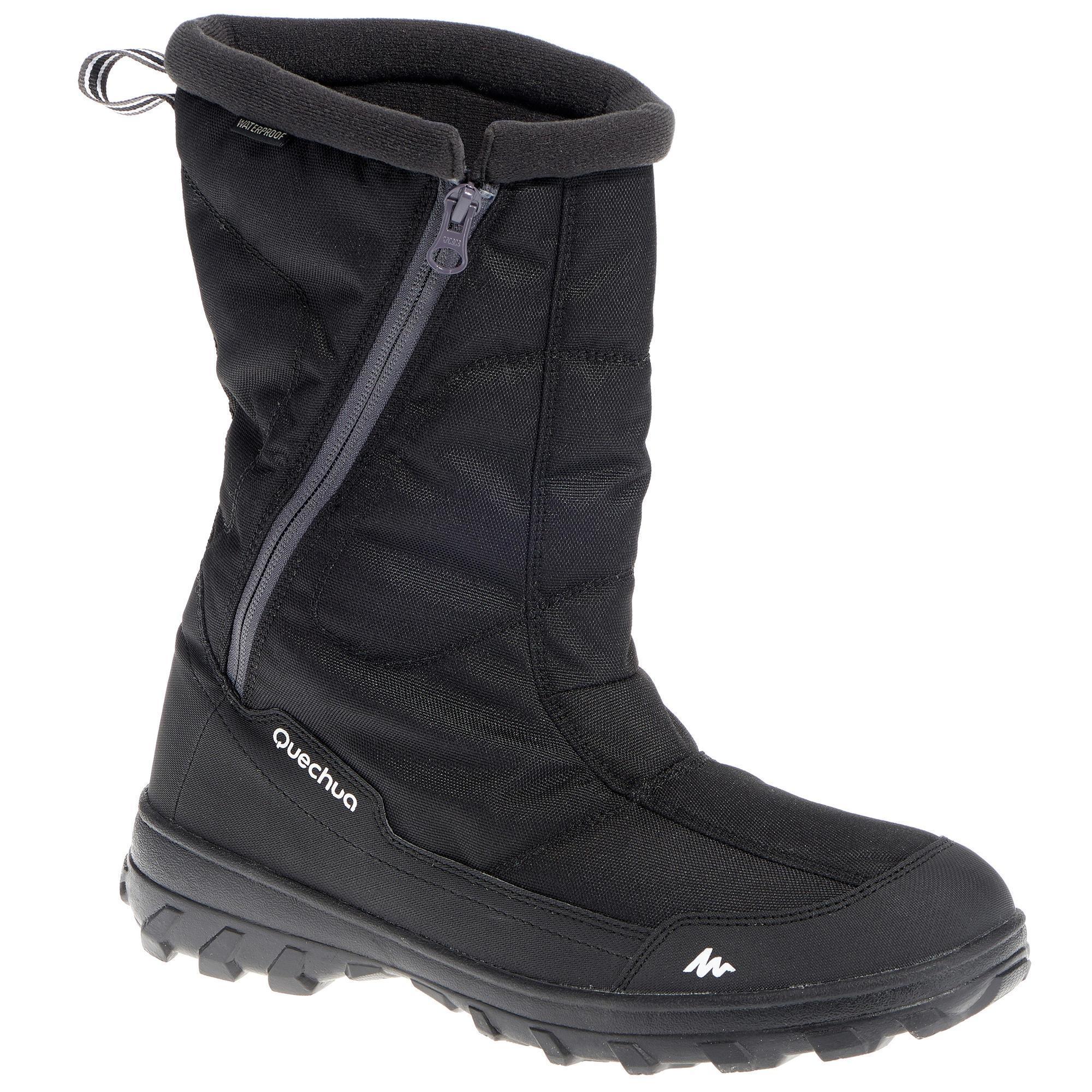 Quechua Heren wandellaarzen voor de sneeuw SH100 X-warm