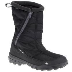 Schneestiefel Winterwandern SH100 X-Warm wasserdicht Herren schwarz