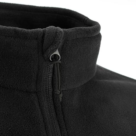 veste polaire randonn e montagne homme forclaz 200 noir quechua. Black Bedroom Furniture Sets. Home Design Ideas