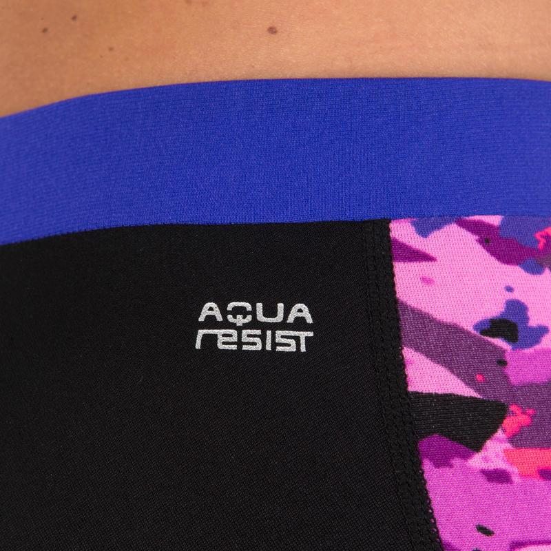 Anna Chlorine-Resistant Aquabiking Leggings - Crac Pink