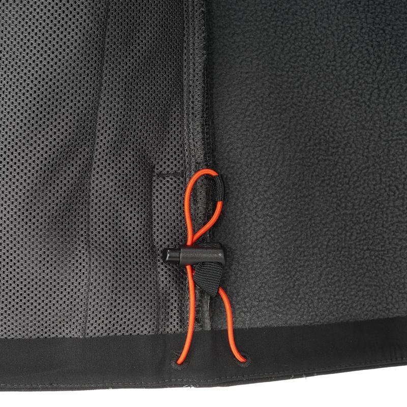 WindWarm 500 Men's Softshell Hiking Jacket - Black