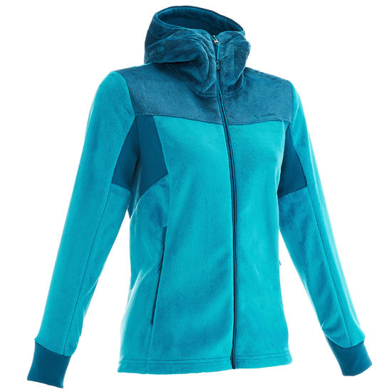 Fleece Forclaz 500 dames trekking - 1014632