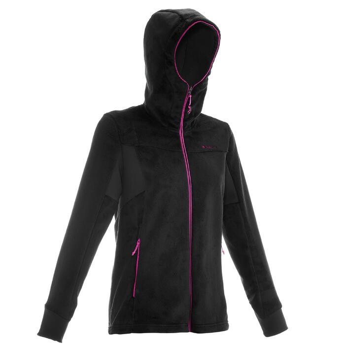 Veste polaire de randonnée montagne femme Forclaz 500 - 1014733