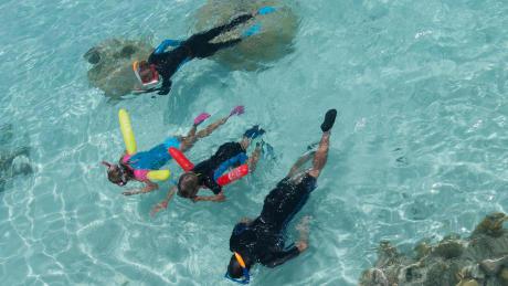 snorkelen boei Decathlon Subea