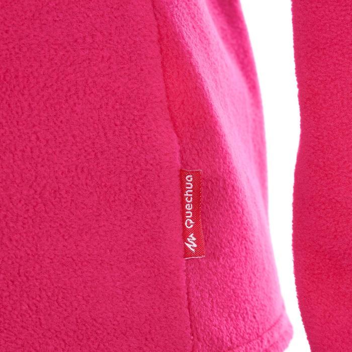 Forro polar de travesía montaña mujer Forclaz 20 rosa